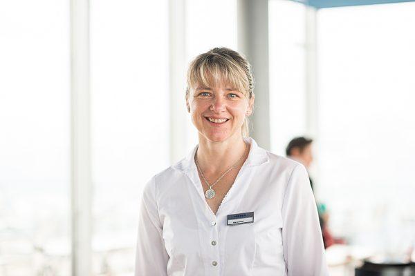 Maria Hari – Leitung Gastronomie Niesenbahn AG Mülenen