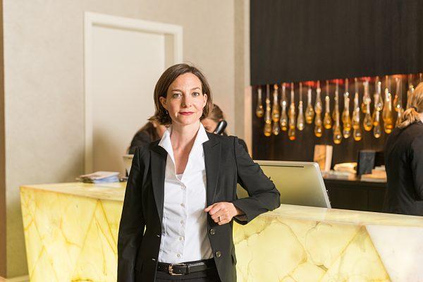 Iris Flückiger – General Manager Hotel Schweizerhof Bern