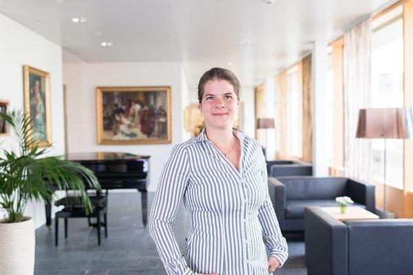 Johanna Nef – Administration Residenz Vivo AG Köniz