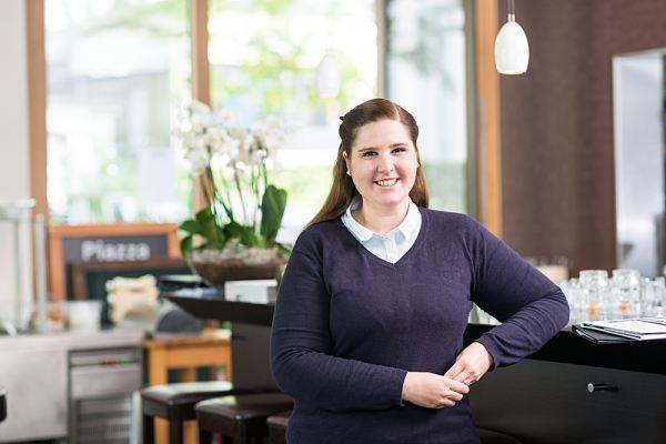 Romina Ettisberger – Geschäftsführerin Restaurant Piazza Baden