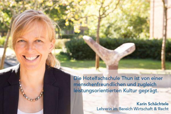 Karin Schächtele – Lehrerin im Bereich Wirtschaft & Recht