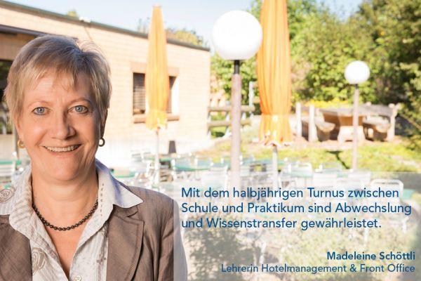 Madeleine Schöttli – Lehrerin Hotelmanagement & Front Office
