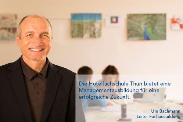 Urs Bachmann – Leiter Fachausbildung